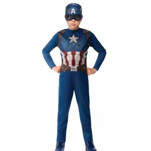 Boys' Marvel Captain America IW Halloween Costume